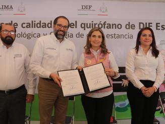 Unidad Quirúrgica del DIF cumple estándares de calidad