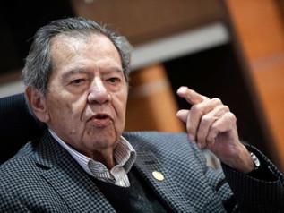 Dirigir el partido, último servicio de mi vida pública: Porfirio Muñoz Ledo