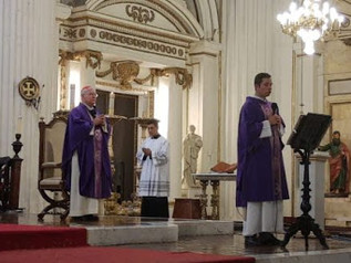 En Semana Santa las misas serán a puerta cerrada