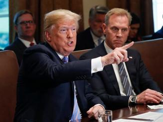 Trump anuncia salida de Shanahan como secretario de Defensa