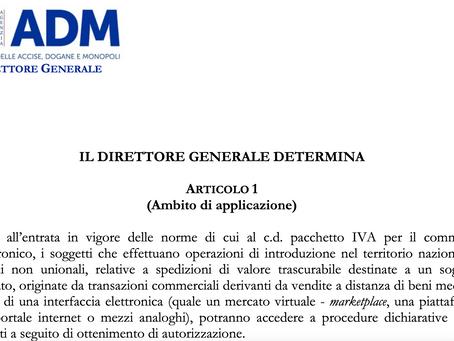IMPORTAZIONI DI BENI ACQUISTATI SU PIATTAFORME WEB: LA DIRETTORIALE PROT. 100615/RU SUL SITO ADM
