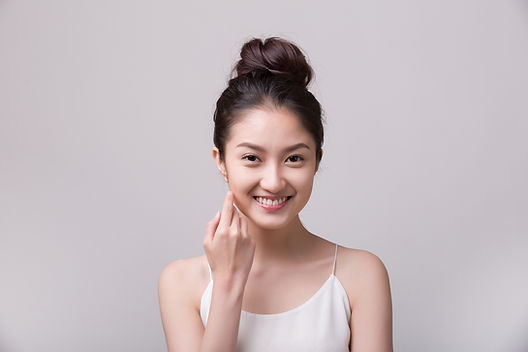 Asian beauty, skin and facial care
