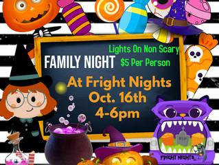 Family Night October 16, 2021