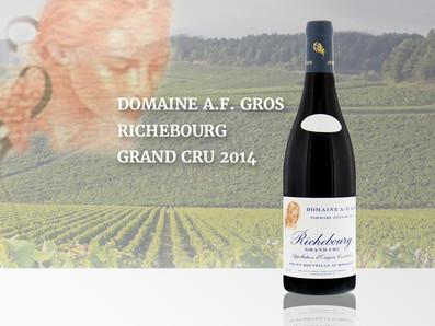 來自歷史悠久的Gros世家,2014 Domaine A.F. Gros Richebourg Grand Cru