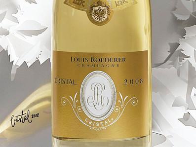 Jancis Robinson 19分,WE 100分滿分2008 Louis Roederer Cristal水晶香檳特別優惠中
