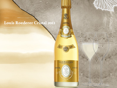"Antonio Galloni ""Stunning"" 98分評價, 2012 Louis Roederer Cristal水晶香檳上市優惠中"