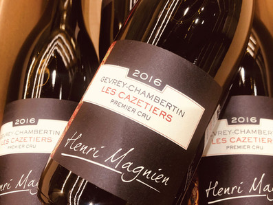 現貨限時搶購中~2016 Henri Magnien Gevrey-Chambertin Les Cazetiers一級園,最低NT$3,300/瓶