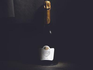 獲得比2002年更高分的2005 Taittinger 泰廷爵Comtes De Champagne白中白香檳RJ 97分