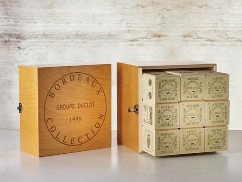 來自Bordeaux的珍藏,各年份波爾多Duclot Collection Case,包含五大酒莊及Petrus等共9個知名酒莊一次珍藏