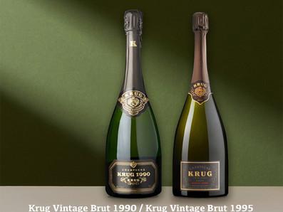 Krug庫克1990/1995老年份香檳,低於國際均價*限時特惠中!