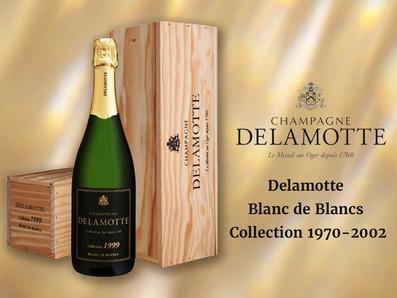 Delamotte Blanc de Blancs Collection 1970-2002多個年份,單瓶木箱裝收藏價優惠中