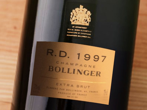 🌟Wine Enthusiast 97分,最佳試飲時間Bollinger R.D. 1997,限量預購
