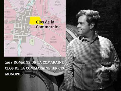 Louis-Michel Liger-Belair接手釀造2018首發年份,來自Pommard的獨佔一級園Clos de la Commaraine