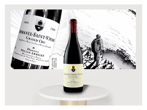 🎁優選預購,比鄰Romanee-Conti,「神の雫」點名「世界最大的玫瑰」Follin-ArbeletRomanée-St-Vivant Grand Cru 2009