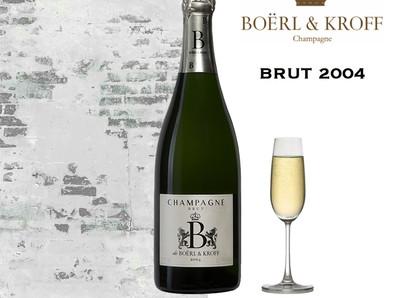 一躍晉升高價香檳行列的Boërl & Kroff,2004 B de Boërl & Kroff現正優惠預購中!