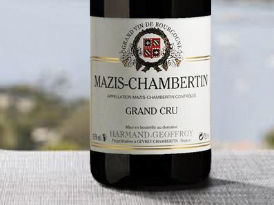 WA 94-96分,優質價格入手絕佳特級園Harmand Geoffroy Mazis Chambertin Grand Cru 2018
