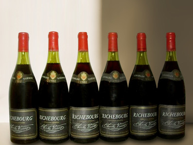 極致稀有!來自Jean Grivot現有的Richebourg地塊,Charles Vienot Richebourg Grand Cru 1982