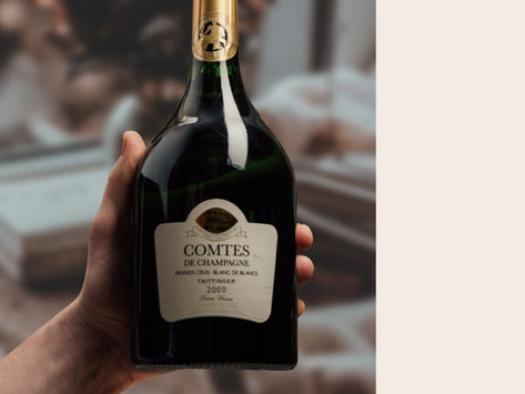 """超高評價🌟Antonio Galloni 98分""""Simply Breathtaking"""" 2008 Taittinger Comtes de Champagne"""