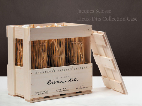 稀有釋出Jacques Selosse Lieux-Dits Collection Case原木箱6瓶裝,現正搶購!另有2014除渣Sous le Mont