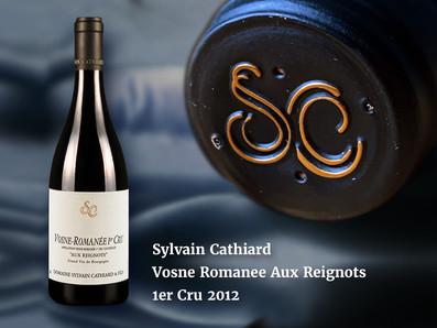 相鄰La Romanee,鄰近Richebourg,2012 Sylvain Cathiard Vosne Romanee Aux Reignots 1er Cru預購優惠中!