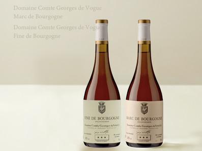 寒冷的冬天❄️享受來自勃根地的白蘭地,Comte Georges de Vogue Marc/Fine de Bourgogne NV