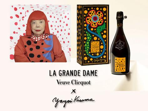 凱歌香檳X草間彌生聯名出品VEUVE CLICQUOT LA GRANDE DAME 2012 BY YAYOI KUSAMA