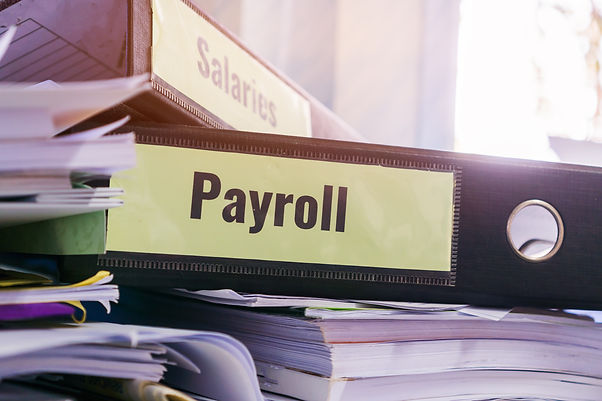 payroll-and-salaries-folders-stack-with-