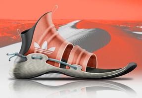 Adidas.Dune Sliders