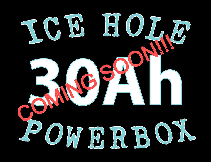 Ice Hole Powerbox 30Ah