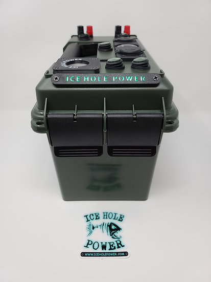 GREEN Ice Hole Power Deluxe box