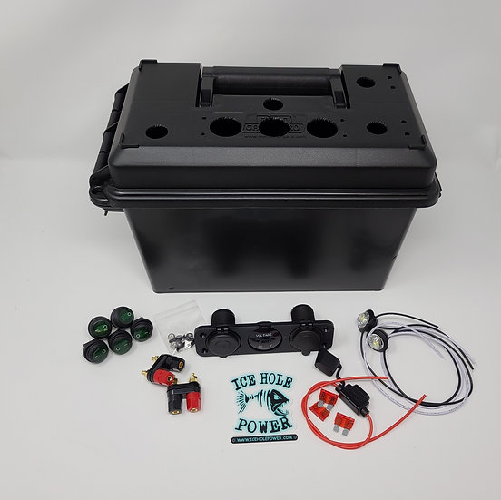 (GREEN) Deluxe DIY Kit WITH BOX