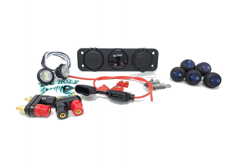 (BLUE) Power Box DIY Kit WITHOUT Box