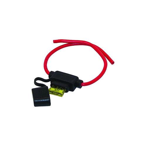 In-line fuse holder