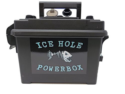 18Ah Ice Hole Powerbox