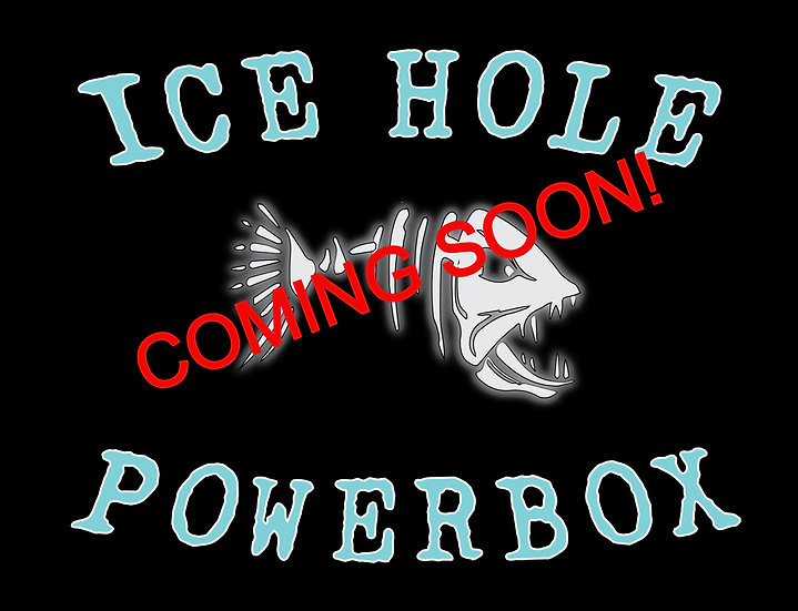 Ice Hole Powerbox WITHOUT Batteries
