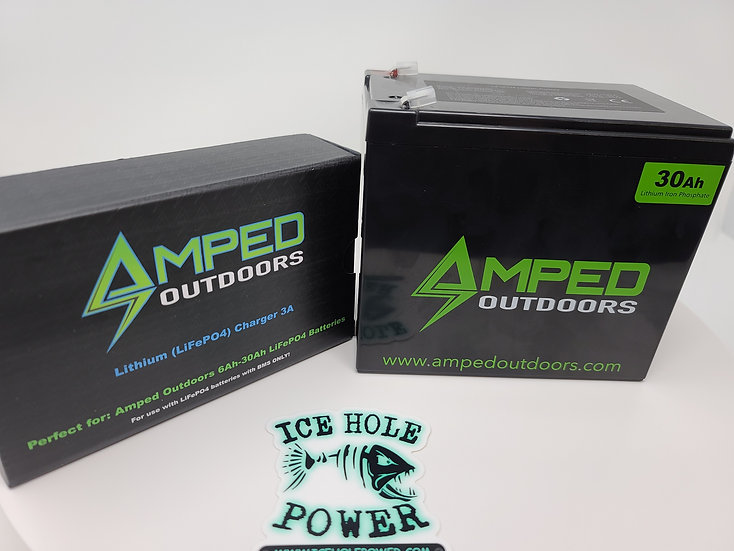 (Restocking May 1st) 30AH LITHIUM BATTERY (LIFEPO4) WIDE