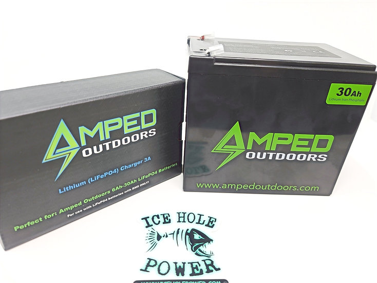 30AH LITHIUM BATTERY (LIFEPO4) WIDE