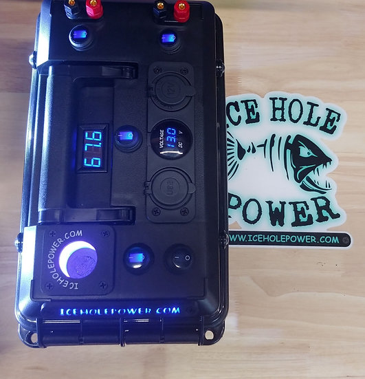 Ice Hole Power Deluxe box