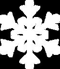 weißer Schneeflocke