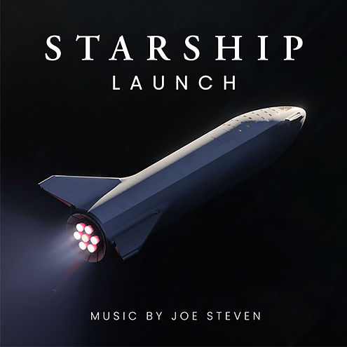 Image of Starship spaceship traveling through space
