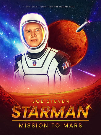 Image of Starman Mission to Mars poster