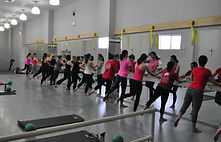 Teaching group barre classes at Halo Studios in New Canaan was so much fun. We'd pack the room, play pop music and pulse and sweat. I encorporated Pilates, strength training, functional training and yoga for my female and male clients of all ages.