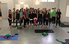 This was a special holiday barre and Pilates class fundraiser I held in New Canaan. I now teach mostly private and duet Pilates and do in-home training for private clients to help them with injuries, to get strong, lose weight and look good.
