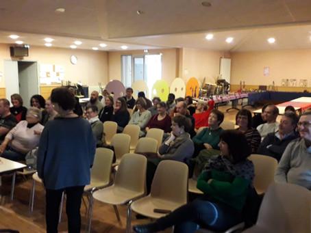 L'assemblée générale a eu lieu le dimanche 3 février à 14h30 dans la salle des fêtes de Virey le