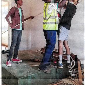 Article du JSL sur un jeune en service civique au Niger.