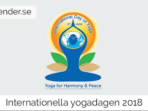 Internationella yogadagen 2018