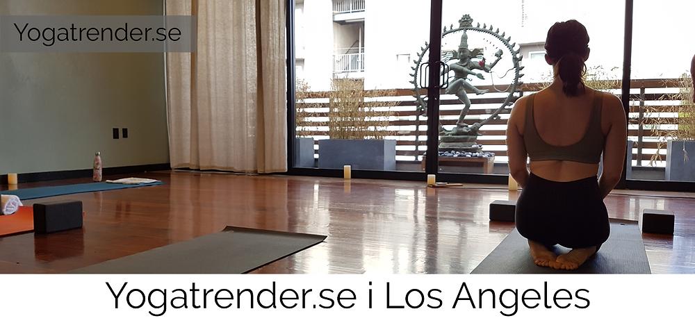 Yogatrender.se provar Wanderlust Hollywood i Los Angeles