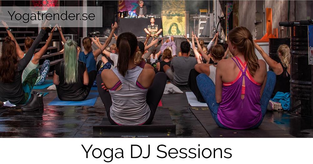 Yoga DJ Sessions på trädgården