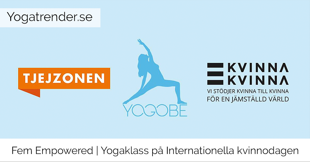 Fem Empowered - Yoga på Internationella kvinnodagen