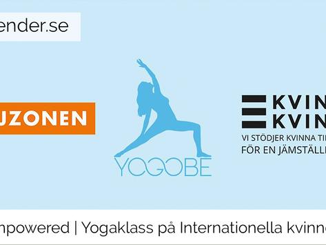 Fem Empowered – En yogaklass för kvinnors rättigheter och välmående